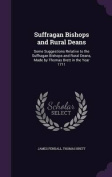 Suffragan Bishops and Rural Deans