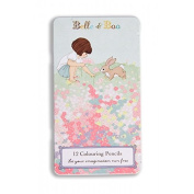 Belle & Boo Meadow Pencil Tin Set - Vintage Style