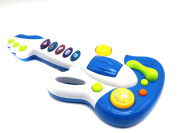 Ver-Baby Musical Kids Guitar Toy Instrument Electronic Playset