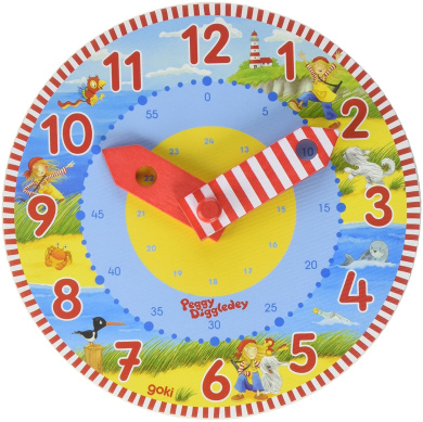 "Goki ""Peggy Diggledey"" Learning Clock"