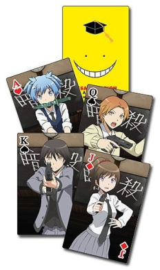 ASSASSINATION CLASSROOM - PLAYING CARDS