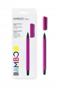 Wacom Gen. 4 Bamboo Stylus Duo with ballpoint pen for Kindle Fire, iPad Pro, iPad, Windows tablets & Samsung Galaxy