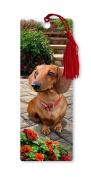 Dimension 9 3D Lenticular Bookmark with Tassel, Dachshund, Pet Breed Series