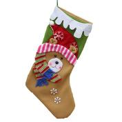 Lookatool Christmas Gift Socks Modelling Candy Bag Stocking Gift Bag