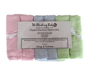 THE BLUSHING BABY 100% Organic Bamboo Washcloths