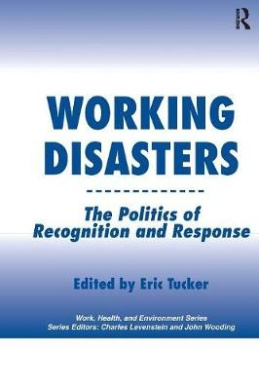 Working Disasters: The Politics of Recognition and Response (Work, Health and Environment Series)