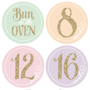 Pregnancy Stickers, Baby Bump Stickers, Belly Stickers, Maternity Stickers