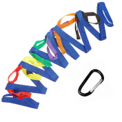 Walking Rope For Preschool - 12 Colourful handles Keeps Kids Safe - Perfect for Daycare Schools and Teachers.