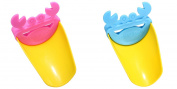 TASOM 2 Pc Faucet Extender Accessory Helps Children Toddler Kids Hand Wash in Bathroom Sink - 2 PC