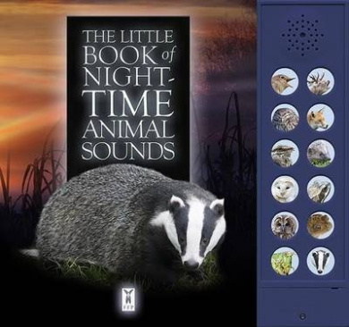 The Little Book of Night-Time Animal Sounds [Board book]
