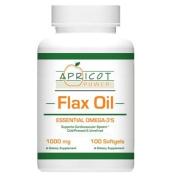 Flaxseed Oil Capsules - 1000 Mg, 100 Softgels
