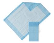 HEALTH 1st Disposable Underpad, 43cm X 60cm , Blue