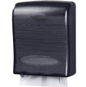 Touchless Paper Towel Dispenser by Oasis Creations - Wall Mount paper towel holder- Hands Free - 500 multifold paper towels