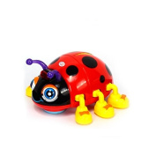 Early Education 3 Year Olds Baby Toy Smart Beetle with Light Music Electric D Ladybug for Children & Kids Boys and Girls