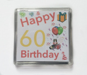 Happy 60th Birthday Gift - Lucky Sixpence Keepsake