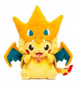 Sincerity Forever Pokemon Pikachu/Charizard Cuddly Toy Collection