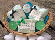 Bath Time Pamper Basket - Lily of the Valley