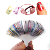 Fashion gallery 20 Colours Rolls Nail Art Lace Tape Line Strips False Nails Decoration Stickers