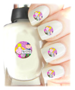 Ben and Hollys Little Kingdom Nail Art Easy to use, High Quality Nail Art Decal Stickers For Every Occasion! Ideal Christmas Present / Gift - Great Stocking Filler