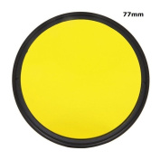 77mm Yellow Complete Full Colour Special Lens Filter Lens Protector For Canon Nikon Sony Digital Camera 77 mm Lens