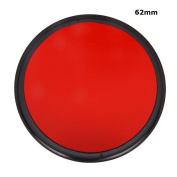 62mm Complete Full red Colour Special lens Filter Lens Protector For canon nikon sony Digital Camera lens