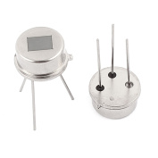 sourcingmap 2 Pcs D203S Pyroelectric Infrared Radial Sensor Human Body Motion Detector