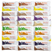 30 Slim & Save Meal Replacement Bars - 10 Flavours, Three of each bar