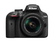 Nikon D3400 + AF-P 18-55VR Black Digital SLR Camera and Lens Kit