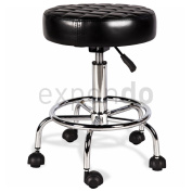 Physa - APHRODITE - Work Stool with height adjusted by using gas cylinder - black