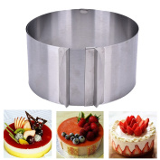 Twinkling Stars Adjustable Cake Mousse Mould Stainless Steel Cake Baking Mould Ring 15cm - 30cm