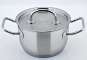 CS Kochsysteme 043131 (16 cm Dia) Stainless Steel Cookware With Pump 18 x 18.3 x 14.4 cm