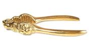 Nutcracker Rompinoci Polished Brass Lion Head Gift Idea