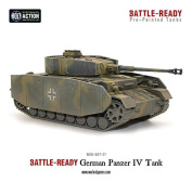 Panzer IV Battle Ready Tank, Bolt Action model