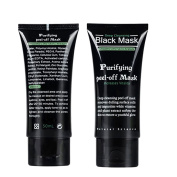 ROMANTIC BEAR Blackhead Remover Deep Clean Purifying Skin Peel Comedo Black Mud Acne Face Mask
