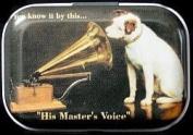 - His Master's Voice Mint Tin Pill Box Pill Box Mint Box Small Money Box