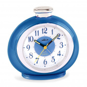 Atlanta Children's Alarm Clock Blue Analogue without Ticking 1946-5