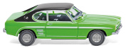 Wiking 082107 Ford Capri I Green with Black Roof