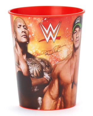Amscan 421467 WWE Plastic Favour Cups