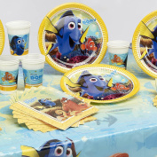 Disney Finding Dory Complete Childrens Tableware Birthday Supplies Party Pack For 16 Guests People