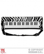 Electronic Keyboard 57cm Inflatable for Inflatable 80s 90s Fancy Dress Accessory
