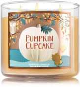 Bath and Body Works Pumpkin Cupcake 3 Wick Candle