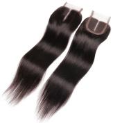 ALi Queen 60cm 60cm 60cm 60cm 4 Bundles 5A Off Black Virgin Brazilian Body Wave Hair Bundles with 41cm Middle Part Body Wave Lace Closure Double Weft Curly Human Hair
