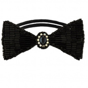 Tassel Dolorosa Hair Tie, Black