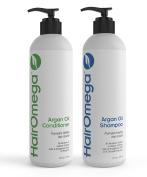 Dr. Formulas Hairomega Argan Oil Restorative Shampoo and Conditioner