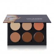 Ucanbe Cream Contouring Palette - Highlighting and Bronzer Makeup Kit / Concealer Pallet