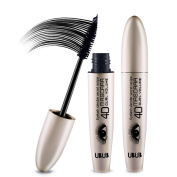 HeyBeauty Volume Waterproof Mascara, Eye Mascara Long Lash Free Clump, 15ml, Blackest Black