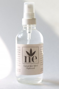 Cucumber Mint Hydrosol 120ml - All Natural Facial Toner And Aromatherapy Mist Made With Organic Ingredients - No Preservatives