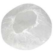 100PCS Clear Plastic Disposable Waterproof Shower Caps