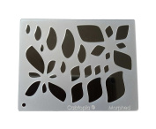 """Cabtopia -- Lapidary Jewellery Design Template Stencil """"Morphed"""""""