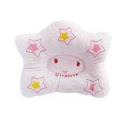 Baby Pillow For Newborn Organic Cotton, No pillowcase needed, Anti-roll Pillow